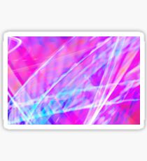 Abstract light painting Sticker