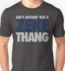 Ain't Nothin' But A Zeke Thang (Silver/Blue) Unisex T-Shirt
