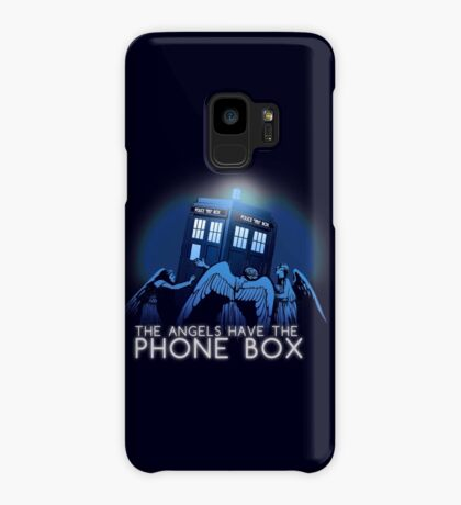 The Angels Have the Phone Box Case/Skin for Samsung Galaxy