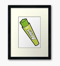 Lime Calippo Framed Print