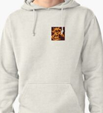 Draco the Dragon burning Pullover Hoodie