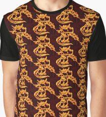 Draco the Dragon burning Graphic T-Shirt