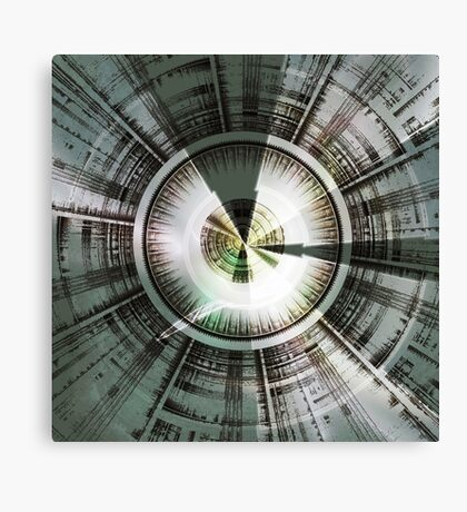 Circling Desires Canvas Print