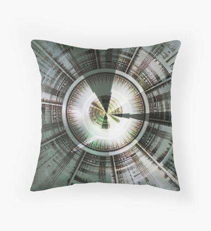 Circling Desires Throw Pillow