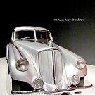 1933 Pierce-Pfeil Silberpfeil Art-Deco-Automobil von Jonathan  Green