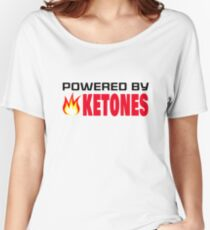Powered by Ketones Women's Relaxed Fit T-Shirt