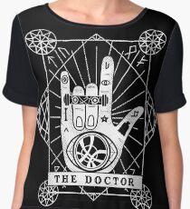 The Doctor Chiffon Top