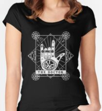 The Doctor Women's Fitted Scoop T-Shirt