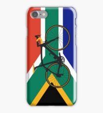 Bike Flag South Africa (Big - Highlight) iPhone Case/Skin