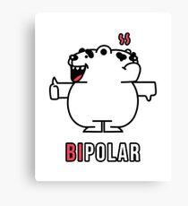 Bipolar Bear Canvas Print