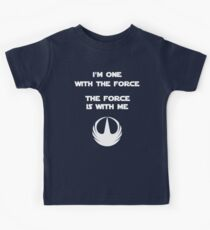Star Wars Rogue One - I'm One with the Force Kids Tee
