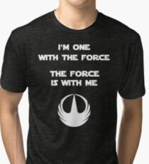 Star Wars Rogue One - I'm One with the Force Tri-blend T-Shirt