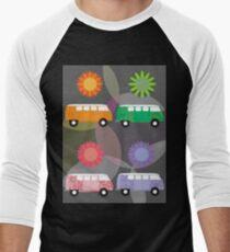 Multi-Colored Volkswagon Buses T-Shirt