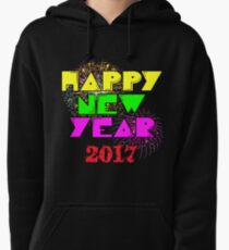 Happy New Year 2017 Pullover Hoodie
