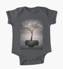 From the Withered Tree, a Flower Blooms (Tree of Solitude) One Piece - Short Sleeve