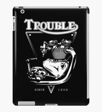 Trouble Engine iPad Case/Skin