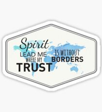Spirit Lead Me - Christian Sticker Sticker