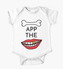 Bone App The Teeth One Piece - Short Sleeve