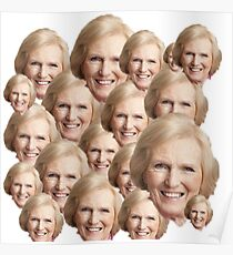Mary Berry Print  Poster