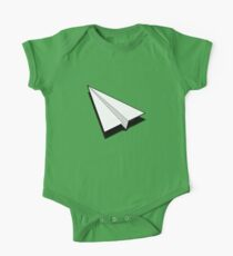 Paper Airplane 1 One Piece - Short Sleeve