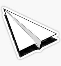 Paper Airplane 1 Sticker