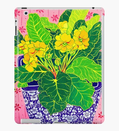 Pretty Primulas iPad Case/Skin