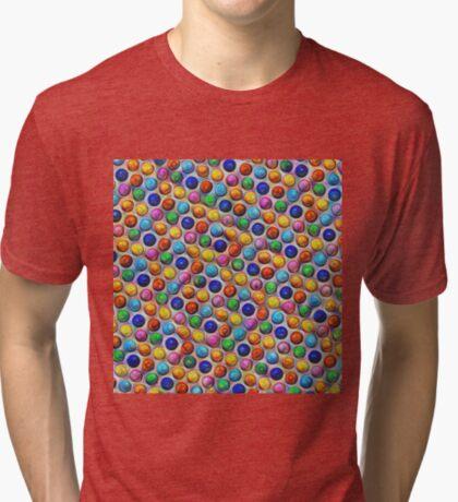 Color Dots #DeepDream Tri-blend T-Shirt