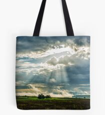 Morning cloud(s) over the Swabian Hills Tote Bag