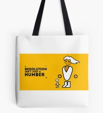 More than a number Tote Bag