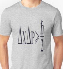Heisenberg uncertainty principle Unisex T-Shirt