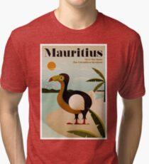 MAURITIUS; Vintage Reise- und Tourismusdruck Vintage T-Shirt