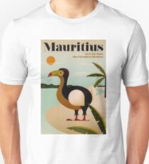 MAURITIUS; Vintage Travel and Tourism Print Unisex T-Shirt