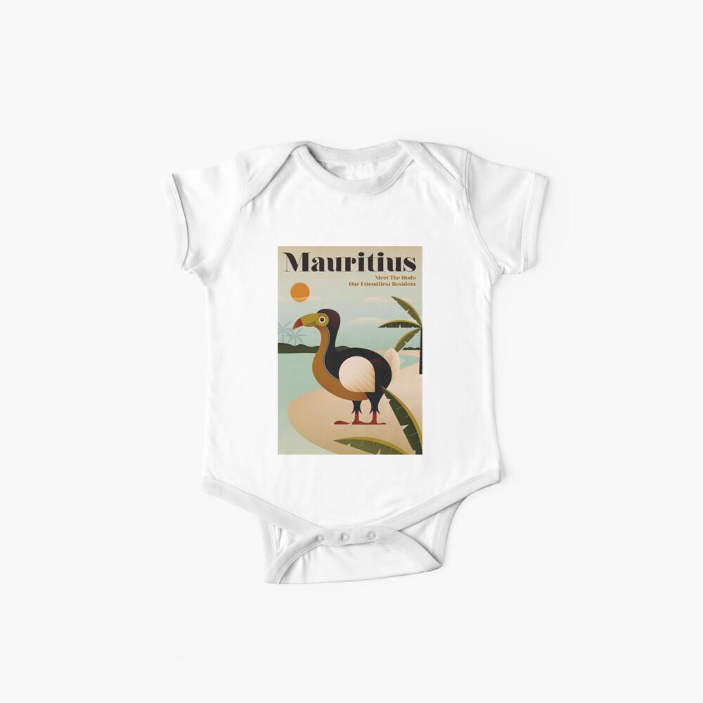 MAURICIO; Viaje de la vendimia y impresión del turismo Body para bebé