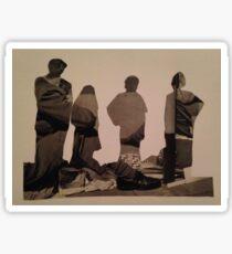 Accidental Dali Collage. Sticker