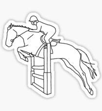 Show Jumping Show-Offs Sticker