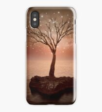 The Strong Grows In Solitude (Tree of Solitude) iPhone Case