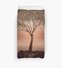 The Strong Grows In Solitude (Tree of Solitude) Duvet Cover