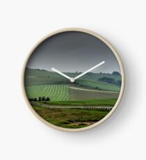 English Country Landscape 4 Clock