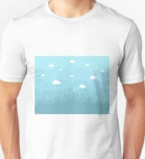 City is flat Unisex T-Shirt