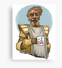 Giant Dad Canvas Print