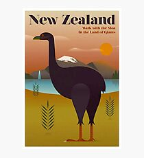 NEW ZEALAND; Vintage Travel and Tourism Print Photographic Print