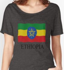 Ethiopia flag Women's Relaxed Fit T-Shirt