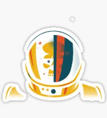 lost in space of nowhere Sticker