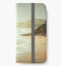pastel green haze iPhone Wallet/Case/Skin