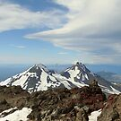 Summit of The North Sister in Oregon by AnimoArt