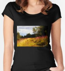 Willow Herb Women's Fitted Scoop T-Shirt