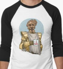 Giant Dad Men's Baseball ¾ T-Shirt