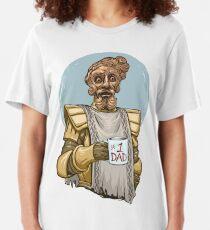 Riesiger Vater Slim Fit T-Shirt
