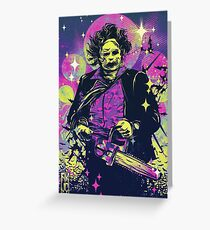 Leatherface  Greeting Card