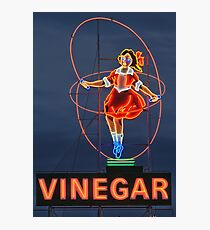 Skipping Girl Vinegar • Melbourne • Victoria Photographic Print